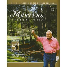 THE MASTERS 2004 (AUGUSTA) OFFICIAL GOLF PROGRAM