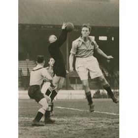 CHELSEA MARINERS V DOS (UTRECHT) 1949 FOOTBALL PHOTOGRAPH