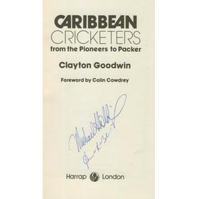CARIBBEAN CRICKETERS: FROM THE PIONEERS TO PACKER