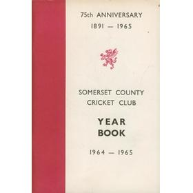 SOMERSET COUNTY CRICKET CLUB YEARBOOK 1964-1965
