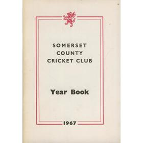 SOMERSET COUNTY CRICKET CLUB YEARBOOK 1966-1967