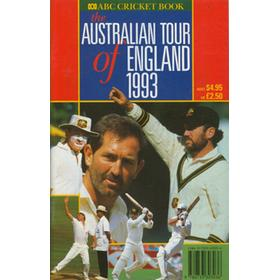 ABC CRICKET BOOK: AUSTRALIAN TOUR OF ENGLAND 1993