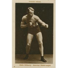 EDDIE MCGOORTY BOXING POSTCARD