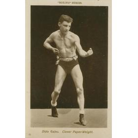 DIDO GAINS BOXING POSTCARD
