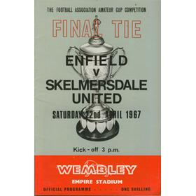 ENFIELD V SKELMERSDALE UNITED 1967 (AMATEUR CUP FINAL)