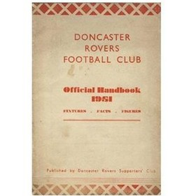 DONCASTER ROVERS OFFICIAL HANDBOOK 1951