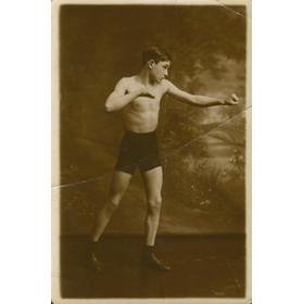 IDRIS THOMAS SIGNED BOXING POSTCARD
