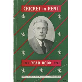 CRICKET IN KENT YEARBOOK NO. 2 1955