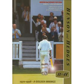 ESSEX V LEICESTERSHIRE 1998 (LORD