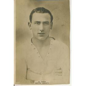 DONALD COCK (NOTTS COUNTY) PINNACE CARD