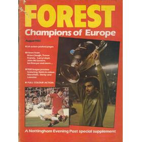 FOREST. CHAMPIONS OF EUROPE