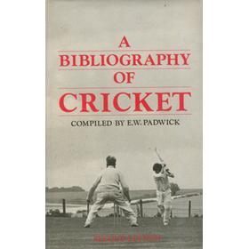 A BIBLIOGRAPHY OF CRICKET