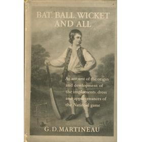 BAT, BALL, WICKET AND ALL