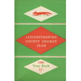 LEICESTERSHIRE COUNTY CRICKET CLUB 1963 YEARBOOK