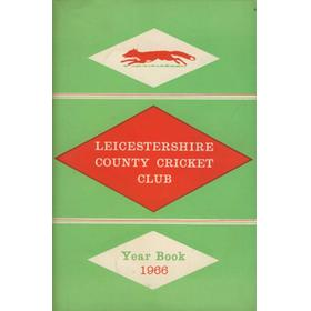 LEICESTERSHIRE COUNTY CRICKET CLUB 1966 YEARBOOK
