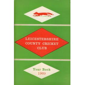 LEICESTERSHIRE COUNTY CRICKET CLUB 1969 YEARBOOK