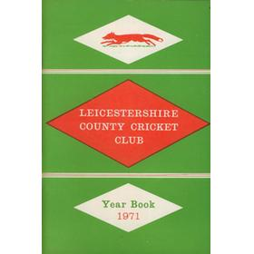 LEICESTERSHIRE COUNTY CRICKET CLUB 1971 YEARBOOK