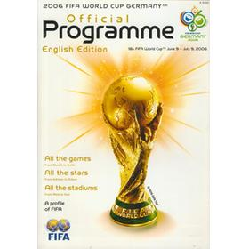 2006 FIFA WORLD CUP GERMANY OFFICIAL PROGRAMME (ENGLISH EDITION)