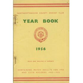 NORTHAMPTONSHIRE COUNTY CRICKET CLUB 1956 YEAR BOOK (MATCH RESULTS AND RECORDS SECTION)