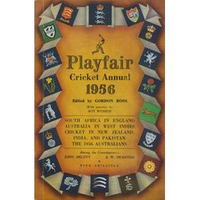 PLAYFAIR CRICKET ANNUAL 1956