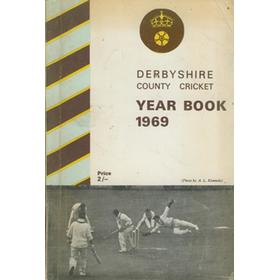 DERBYSHIRE COUNTY CRICKET YEAR BOOK 1969