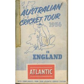 AUSTRALIA CRICKET TOUR OF ENGLAND 1956 AND SPRINGBOK RUGBY TOUR OF NEW ZEALAND AND AUSTRALIA 1956