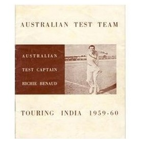 AUSTRALIAN TEST TEAM TOURING INDIA 1959-60