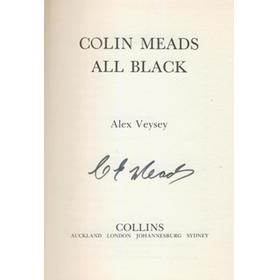 COLIN MEADS: ALL BLACK