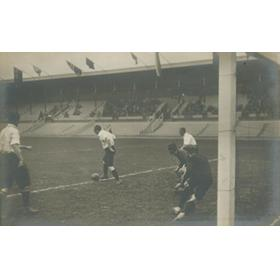 GREAT BRITAIN V FINLAND 1912 OLYMPICS (FOOTBALL SEMI-FINAL)