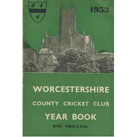 WORCESTERSHIRE COUNTY CRICKET CLUB YEAR BOOK 1953