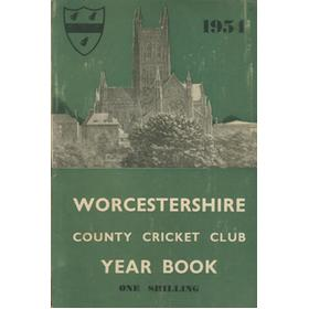 WORCESTERSHIRE COUNTY CRICKET CLUB YEAR BOOK 1954