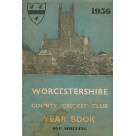 WORCESTERSHIRE COUNTY CRICKET CLUB YEAR BOOK 1956