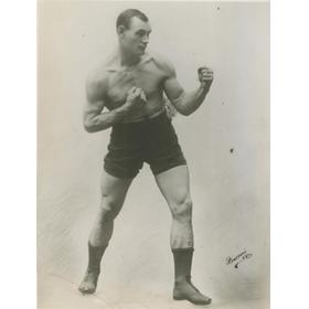 BILL SQUIRES BOXING PHOTOGRAPH