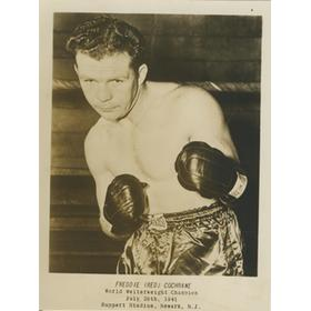 FREDDIE (RED) COCHRANE BOXING PHOTOGRAPH