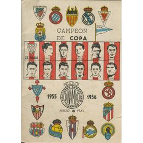CAMPEON DE COPA 1955-1956 (SPANISH LEAGUE HANDBOOK)