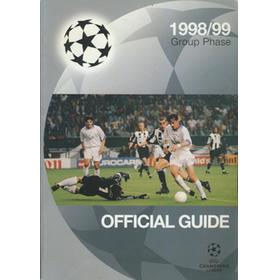UEFA CHAMPIONS LEAGUE 1998-9 OFFICIAL GUIDE