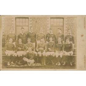 SCOTLAND RUGBY TEAM 1898 PHOTOGRAPH