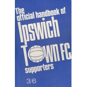 IPSWICH TOWN F.C. SUPPORTERS ASSOCIATION HANDBOOK: SEASON 1970-71