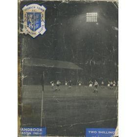 IPSWICH TOWN F.C. SUPPORTERS ASSOCIATION HANDBOOK: SEASON 1960-61