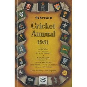 PLAYFAIR CRICKET ANNUAL 1951
