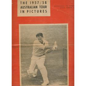 "THE 1957/58 AUSTRALIAN TOUR IN PICTURES: SUPPLEMENT TO ""PERSONALITY"""