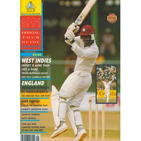 WEST INDIES TOUR TO ENGLAND 1991: OFFICIAL TOUR GUIDE