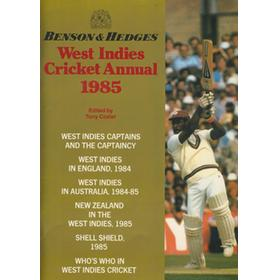 BENSON & HEDGES WEST INDIES CRICKET ANNUAL 1985