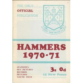HAMMERS 1970-71 OFFICIAL BROCHURE