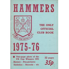THE HAMMERS 1975-76: THE ONLY OFFICIAL CLUB BOOK