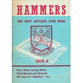 THE HAMMERS 1978-9: THE ONLY OFFICIAL CLUB BOOK