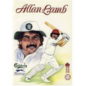ALLAN LAMB (NORTHAMPTONSHIRE) CRICKET BENEFIT BROCHURE