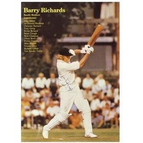 BARRY RICHARDS (HAMPSHIRE) CRICKET BENEFIT BROCHURE
