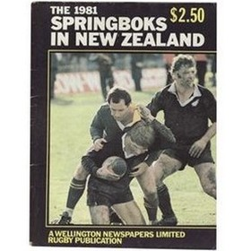 THE 1981 SPRINGBOKS IN NEW ZEALAND