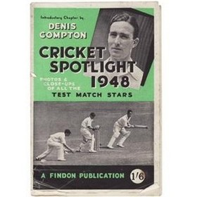 CRICKET SPOTLIGHT 1948